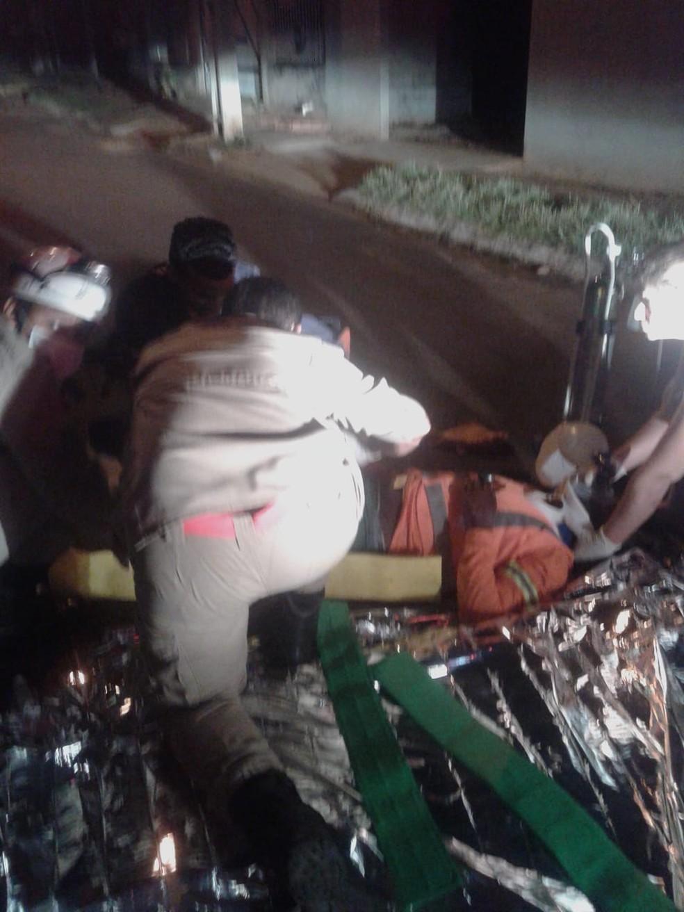 Gari foi atropelado por caminhão de coleta de lixo enquanto trabalhava em Sorriso (Foto: Arquivo pessoal)