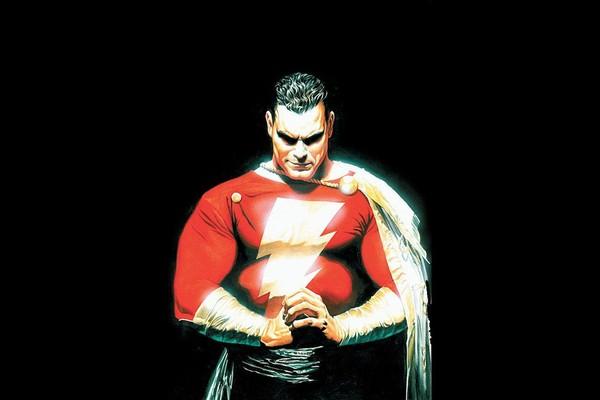 O herói Shazam da editora DC Comics (Foto: Reprodução)