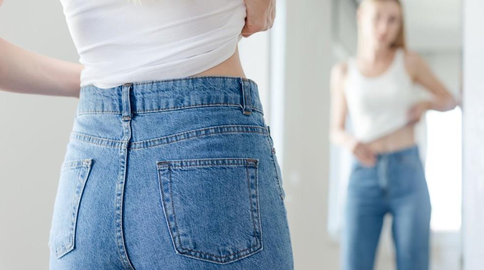Diferentemente da bulimia, a anorexia é visível aos olhos — Foto: Getty Images