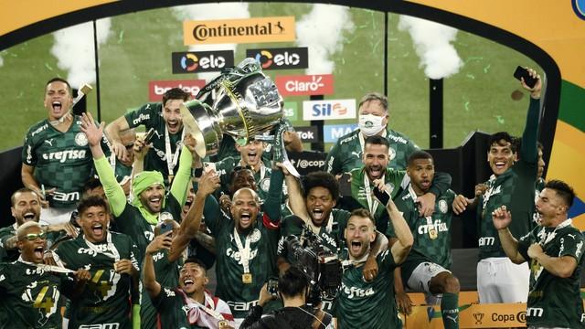 Palmeiras campeão da Copa do Brasil 2020