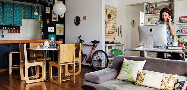 Trabalhar em casa (Foto: Casa e Jardim)