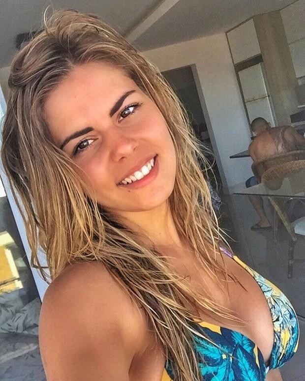 Amanda Teixeira, namorada de Yuri Fernandes (Foto: Reprodução/Instagram)