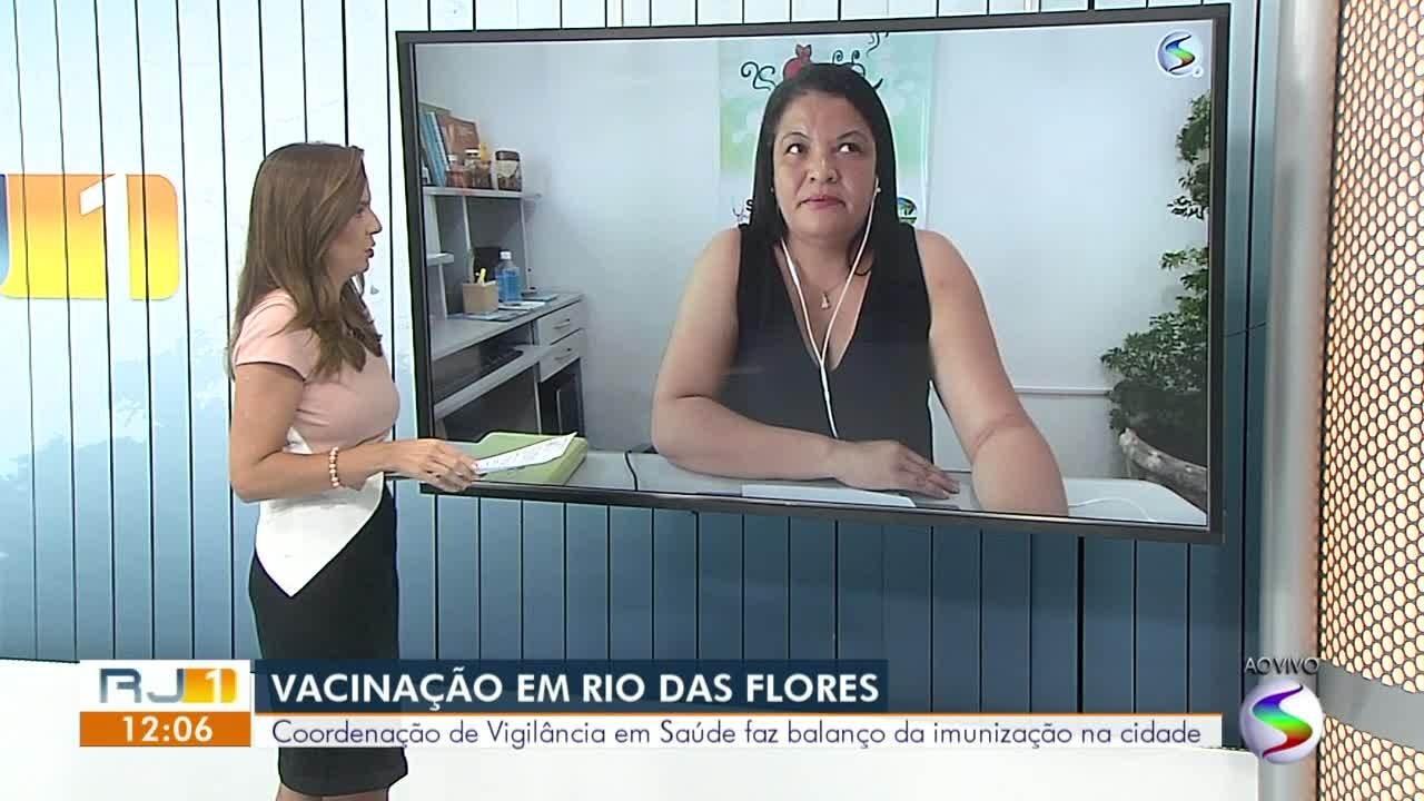 Coordenadora de Vigilância em Saúde faz balanço sobre imunização em Rio das Flores