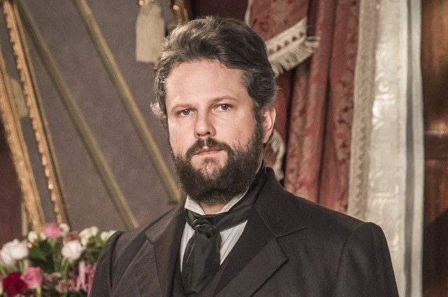 Selton Mello é Dom Pedro II em 'Nos tempos do Imperador' (Foto: TV Globo)