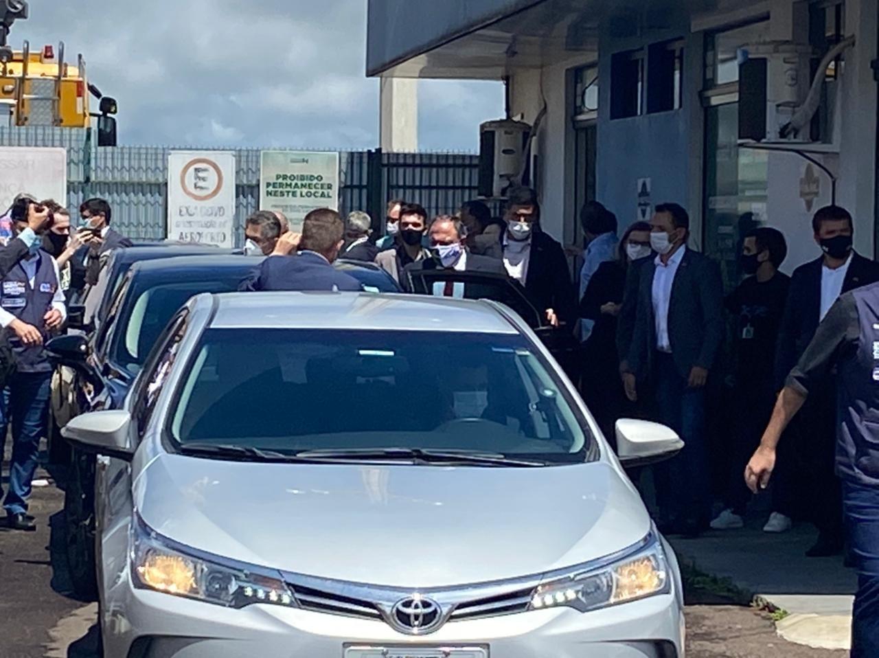 Eduardo Pazuello visita Oeste de SC; região vive colapso na saúde
