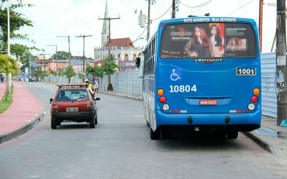 Sistema de ônibus terá mudanças em algumas linhas (Foto: Divulgação / SSP)