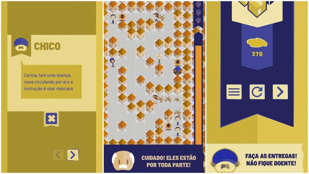 """Estilo do jogo é o """"hyper casual"""", um quebra-cabeça que pode ser jogado apenas com uma mão — Foto: Arquivo pessoal"""