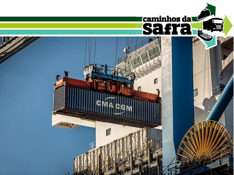 Terminal de Contêineres de Rio Grande (Tecon) (Foto: Marcelo Curia)