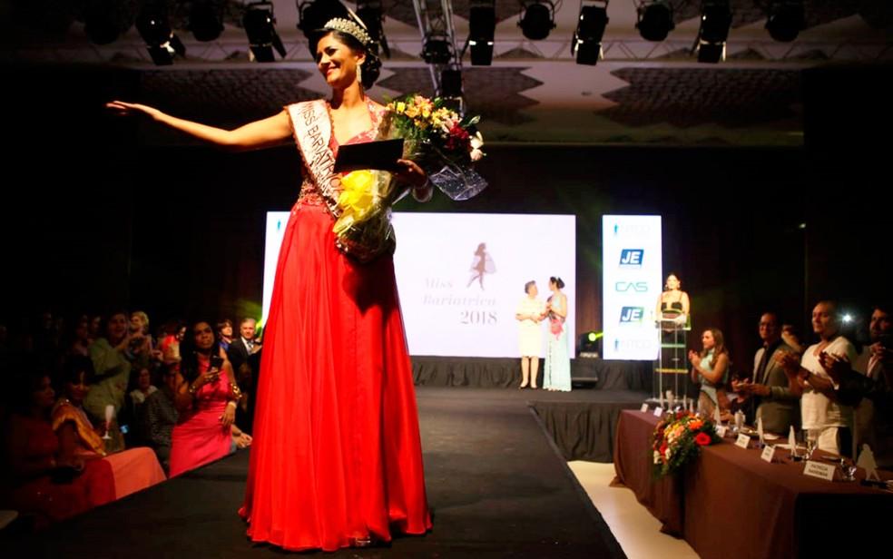 Miss Bariátrica 2018 aconteceu na noite de sexta-feira, 31 de agosto — Foto: Nando Filho Imagens