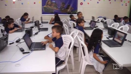 Alunos no MA aprendem português e matemática de forma interativa