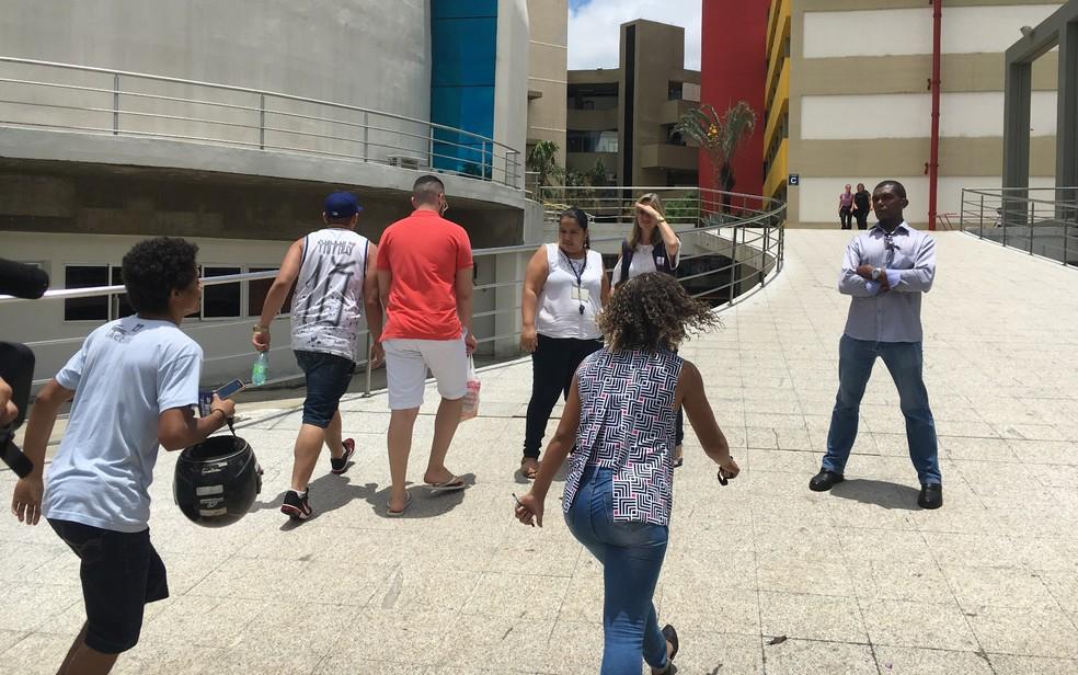 -  Abstenção no 2º dia de provas do Enem em Goiás foi de 33%  Foto: Vitor Santana/G1