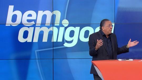 """Galvão Bueno faz críticas a Tite: """"Mudou muito pouco"""""""