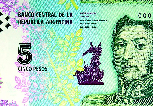 Peso argentino (Foto:  BCRA/LatinContent/Getty Images)