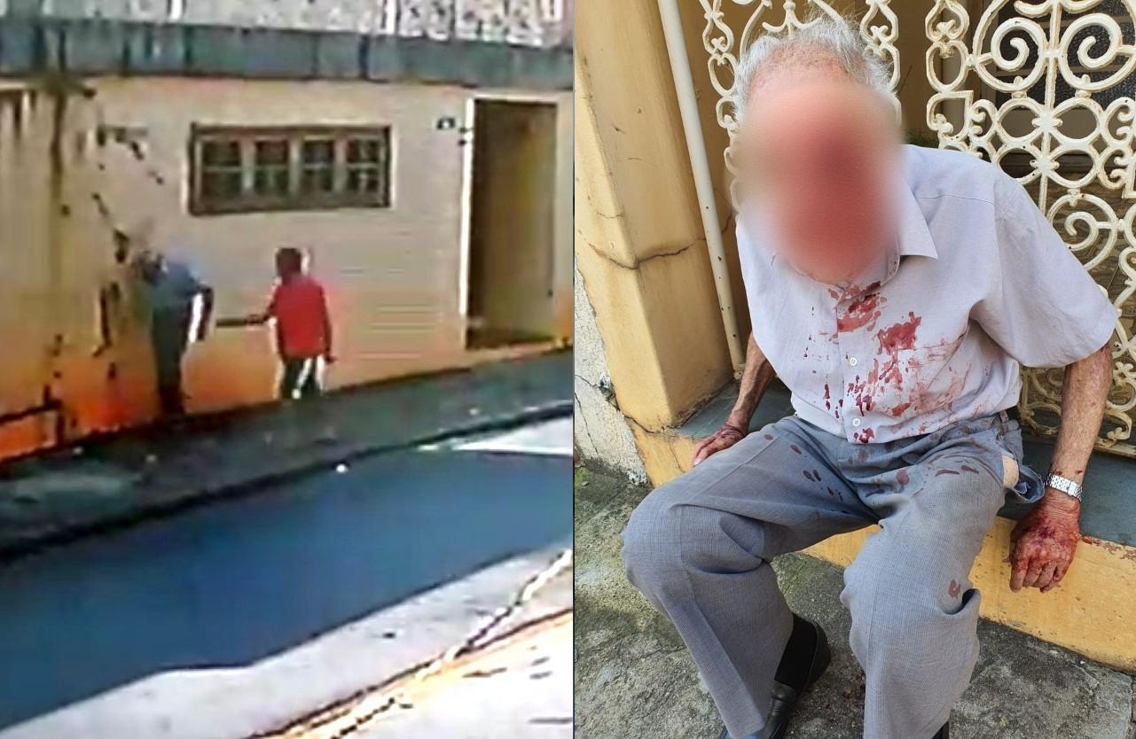 Preso por jogar idoso no chão diz à polícia que roubou dinheiro para comprar bebida alcoólica