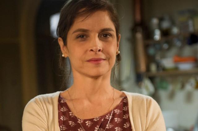 Drica Moraes é Cora na novela 'Império' (Foto: Reprodução)