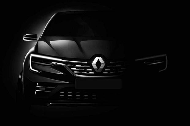 Renault divulga o primeiro teaser do seu novo modelo (Foto: Divulgação)