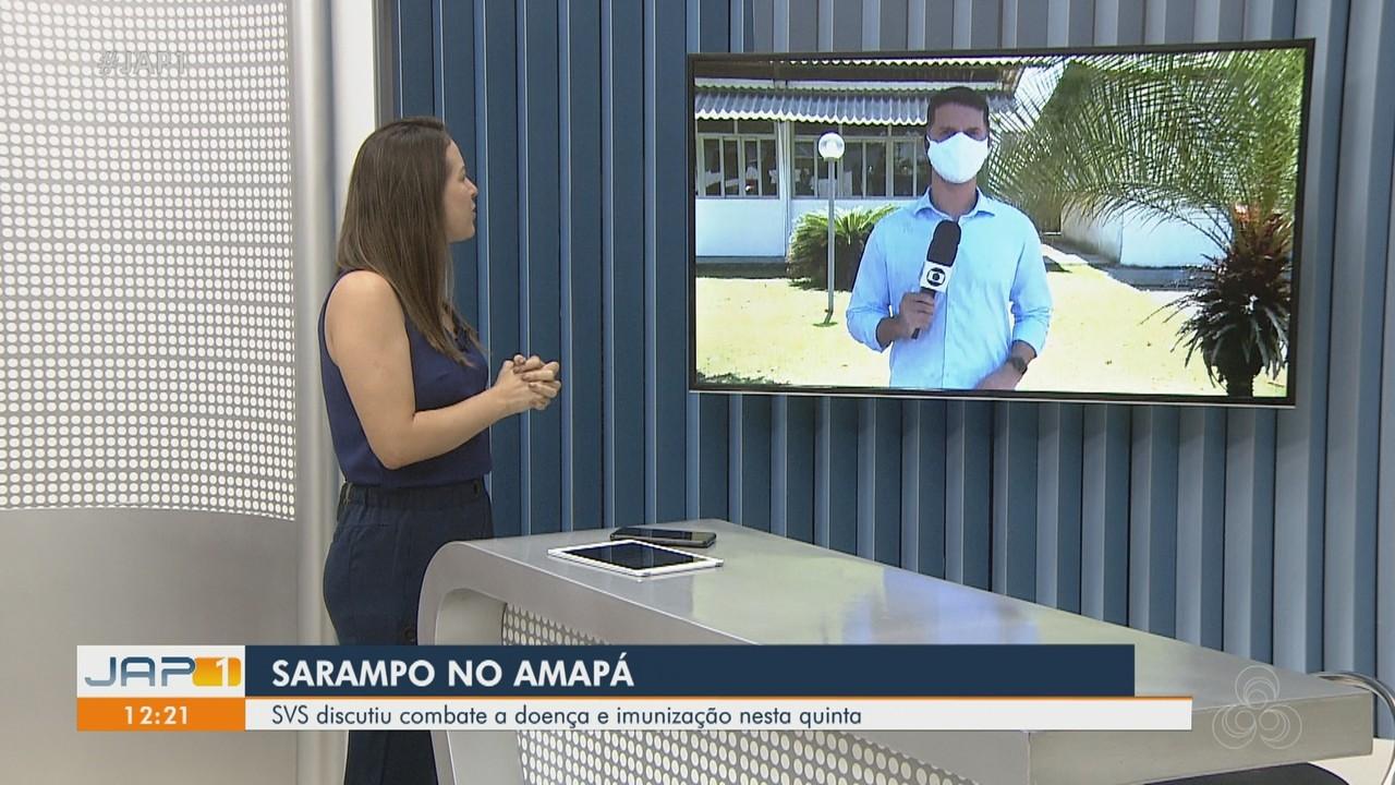 Com baixas taxas de imunização, casos de sarampo elevam no Amapá
