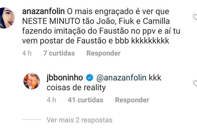 """Boninho responde internauta sobre &squot;BBB"""" 21 (Foto: Reprodução)"""