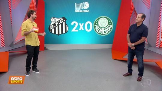 Muricy Ramalho analisa todos os detalhes do clássico entre Santos e Palmeiras
