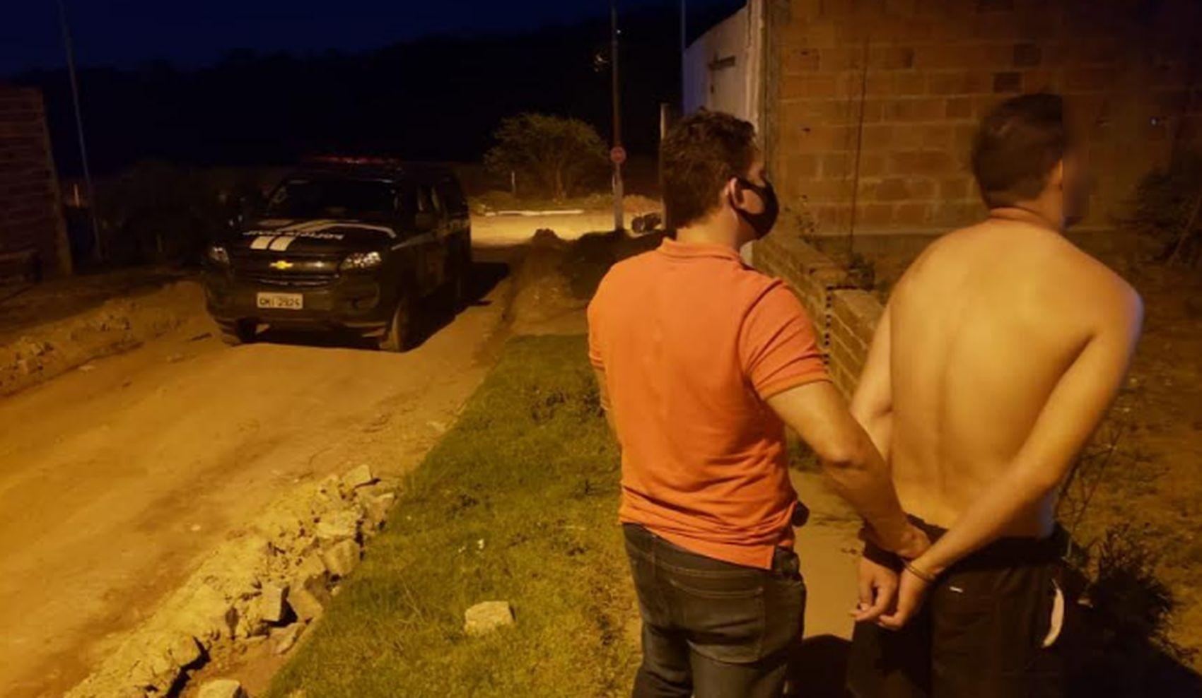 Suspeito de tentativa de estupro contra jovem é preso em Estância