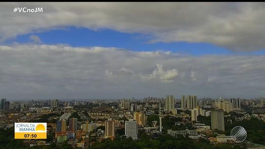 Previsão do tempo: Salvador tem nebulosidade e chuvas isoladas nesta quinta-feira
