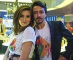 Jerônimo (Jesuíta Barbosa) surgirá com uma nova namorada no último capítulos, mas, quando Vanessa (Camila Queiroz) reparecer, ele voltará para a pilantra |  Estevam Avellar/ TV Globo