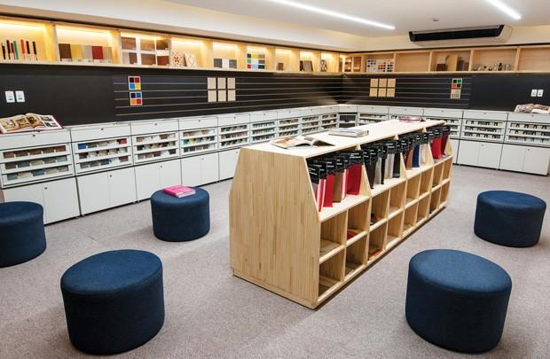 Biblioteca de materiais incentiva busca por soluções sustentáveis entre designers