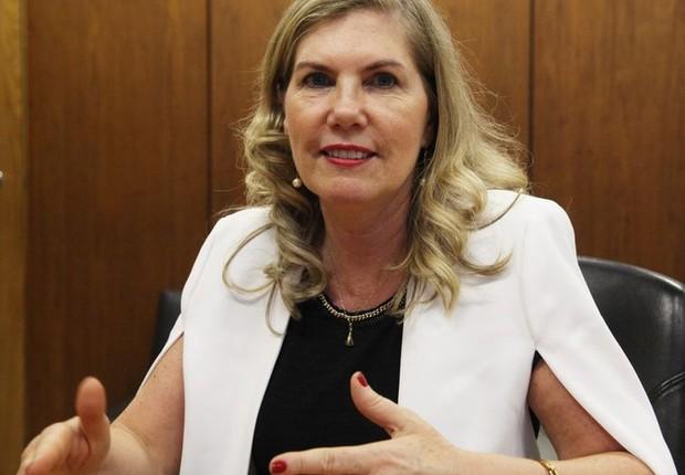 Regina Vanderlinde, nova presidenteOrganização Internacional da Vinha e do Vinho (Foto: Divulgação/Ministério da Agricultura)