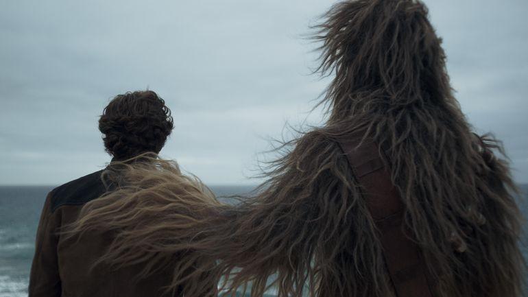 Alden Ehrenreich como Han Solo e Joonas Suotamo como Chewie  (Foto: Divulgação)