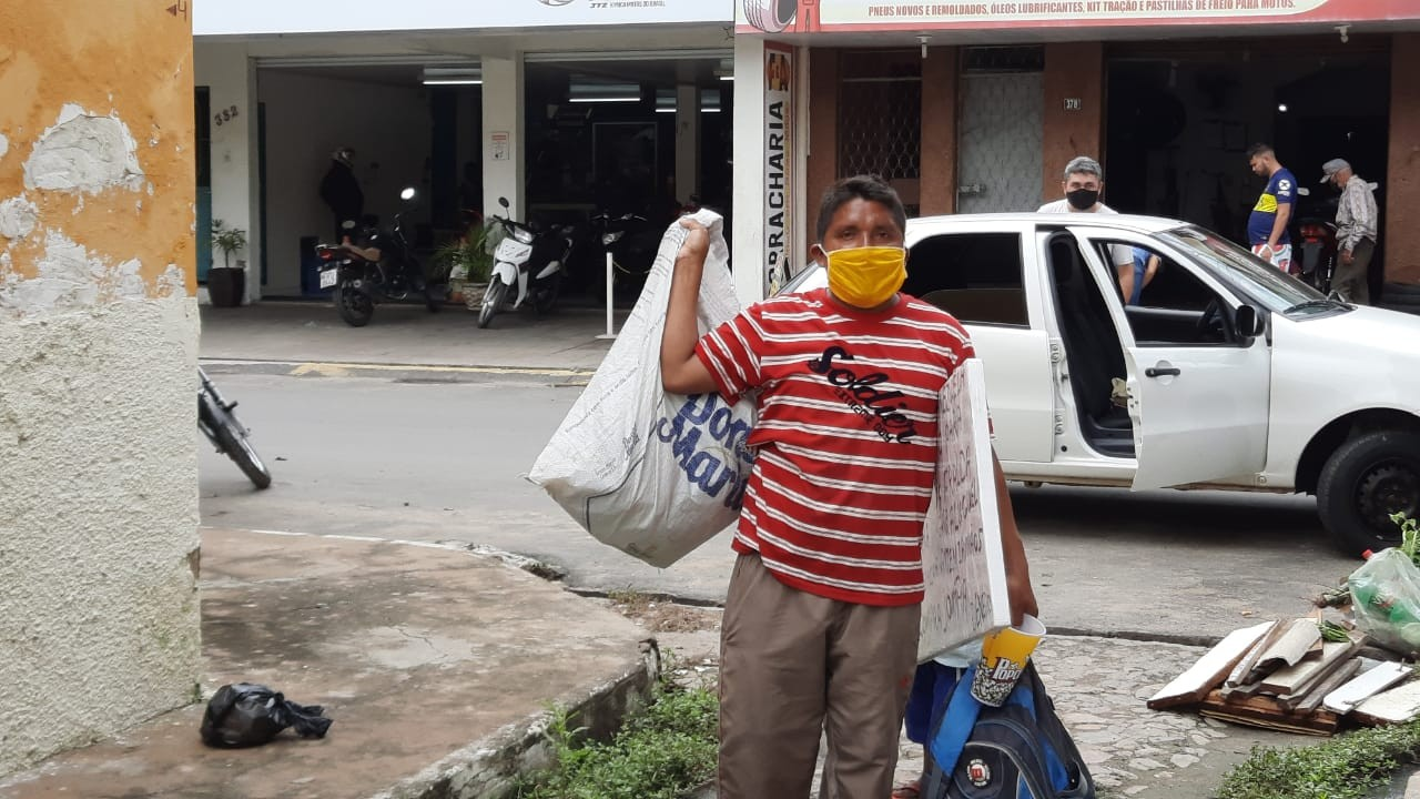 Famílias venezuelanas se abrigam em Iguatu, no interior do Ceará, e são monitoradas para Covid-19