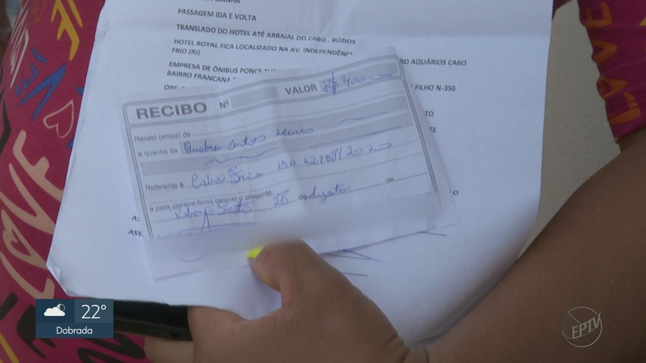 Turistas de Ribeirão Preto caem em golpe de viagem para Cabo Frio