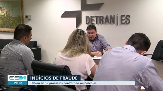 Detran abre processos contra oito autoescolas por fraude em aulas práticas no ES