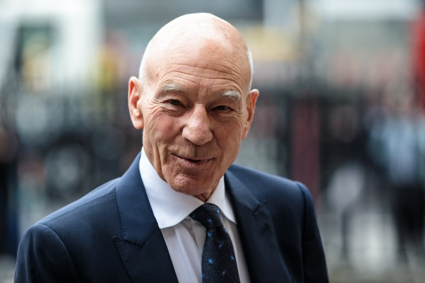 O ator Patrick Stewart (Foto: Getty Images)