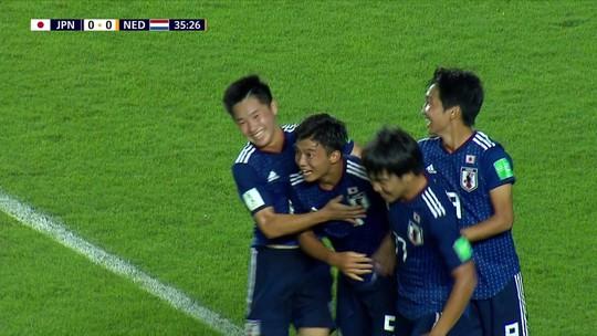 Japão surpreende e vence a Holanda na estreia do Mundial Sub-17