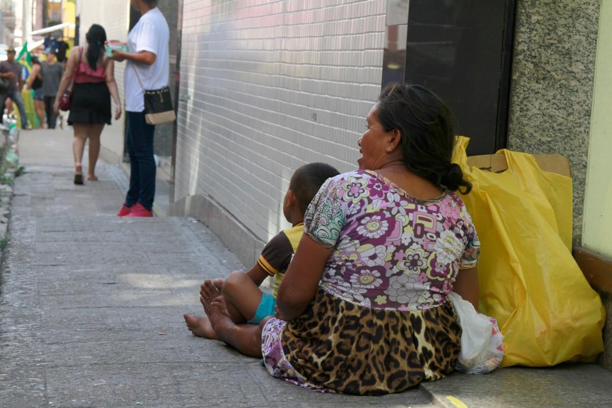 Belém decreta situação de emergência pela chegada de índios venezuelanos