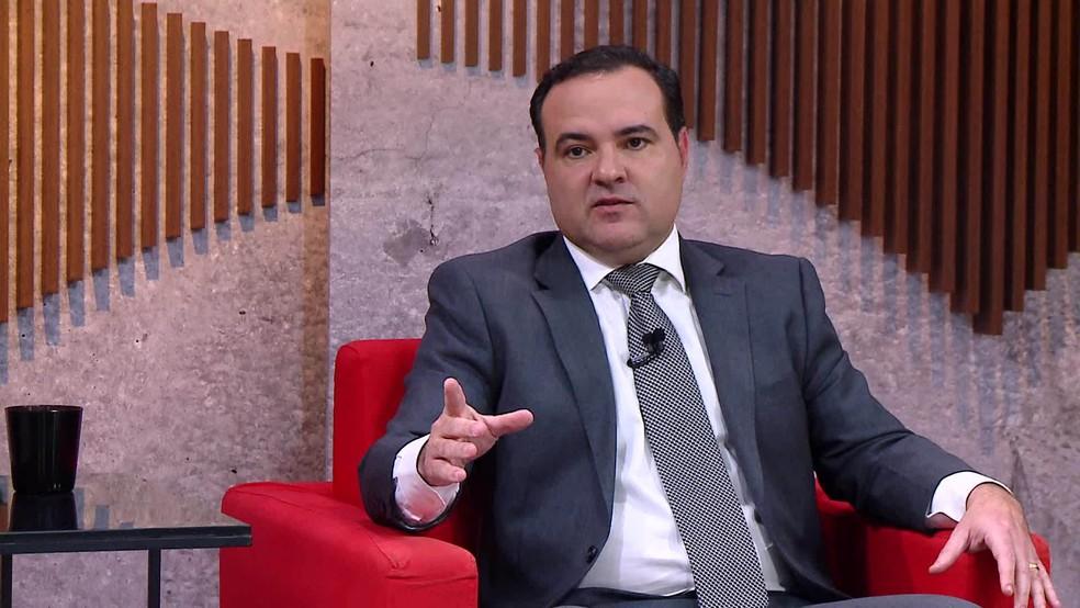 O ministro Jorge Oliveira, atualmente na Secretaria-Geral da Presidência, deve ser o novo ministro da Justiça — Foto: Reprodução/GloboNews