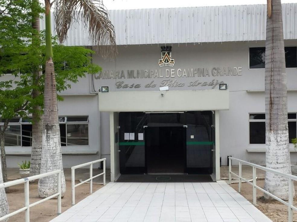 Câmara Municipal de Campina Grande (Foto: Artur Lira/G1/Arquivo)