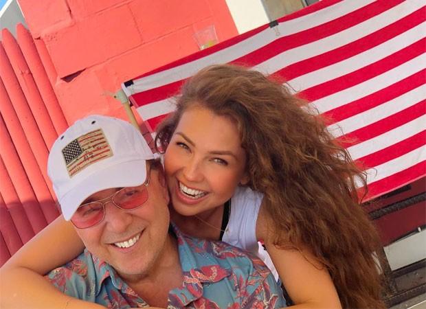 Tommy Mottola e Thalía (Foto: Reprodução)