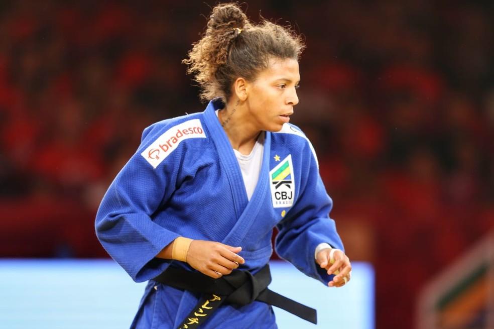 Rafaela Silva Grand Slam de Brasília judô — Foto: Abelardo Mendes Jr/ rededoesporte.gov.br