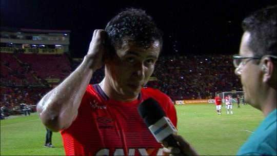 """Pablo sobre derrota: """"A sorte pelo jeito não está do nosso lado"""""""