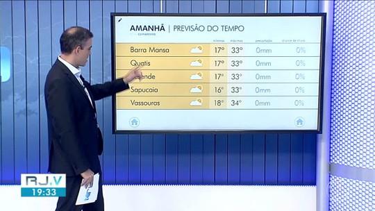 Meteorologia prevê temperaturas altas nesta terça-feira no Sul do Rio de Janeiro