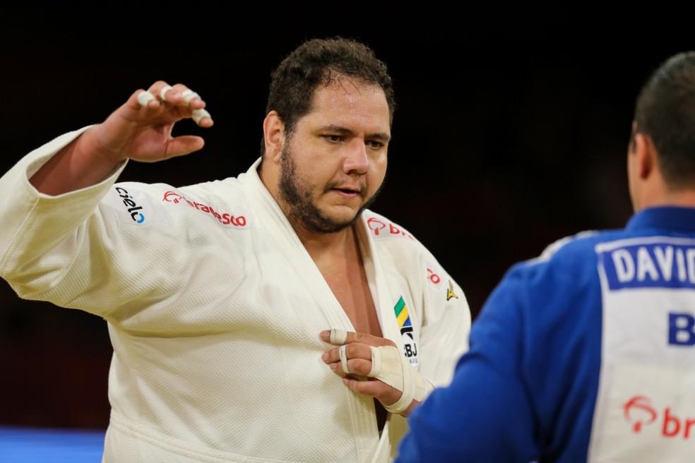 Rafael Silva, dono de duas medalhas olímpicas — Foto: Abelardo Mendes Jr / rededoesporte