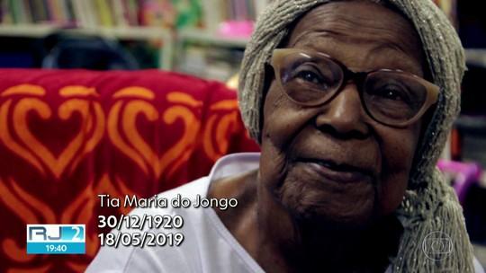 Tia Maria do Jongo da Serrinha morre no Rio, aos 98 anos