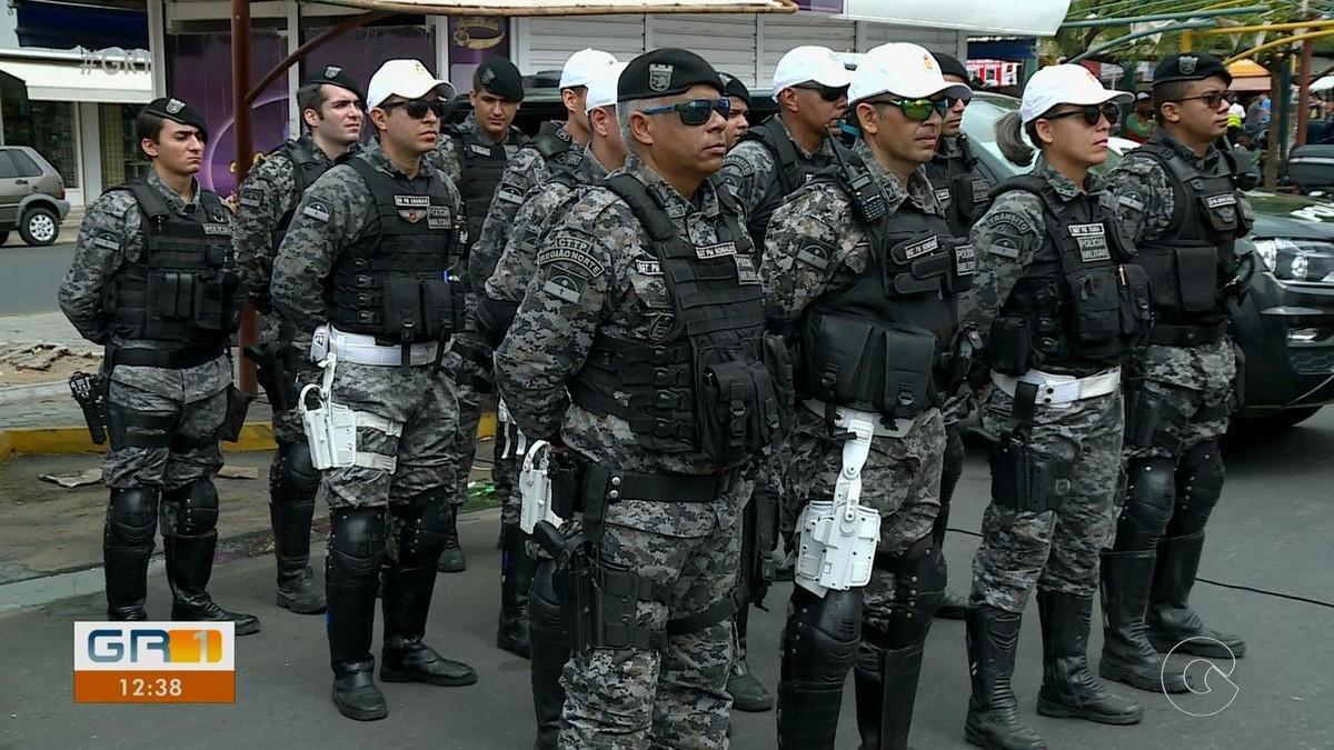 Operação Papai Noel é lançada em Petrolina para intensificar segurança no comércio da cidade - G1