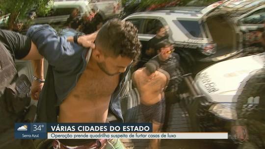 Seis são presos em Sertãozinho e Ribeirão Preto por suspeita de furtos a casas no interior de SP