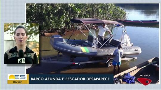 Pescadores desaparecem no mar de Regência, em Linhares, ES