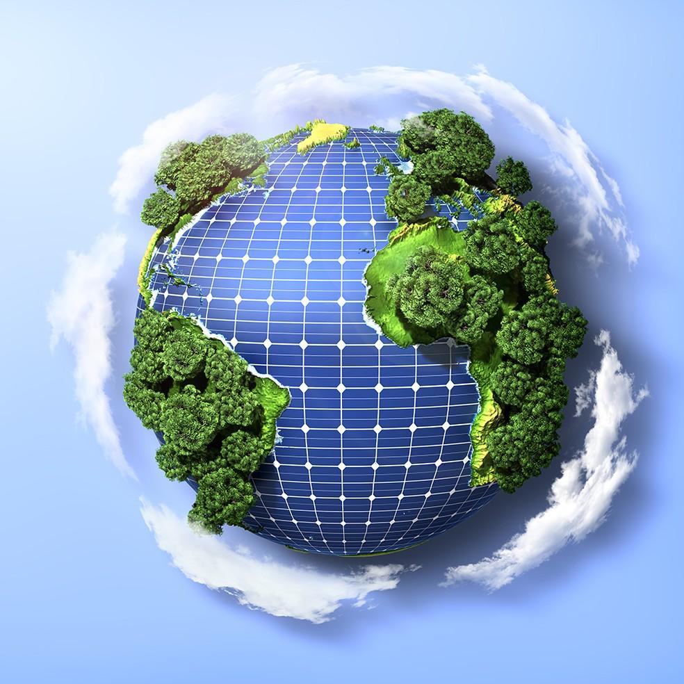 Energia limpa — Foto: Divulgação/Simepe