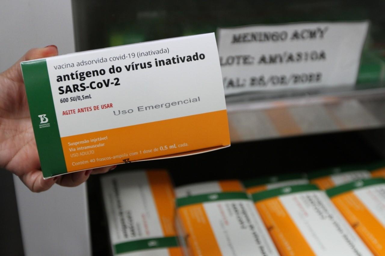 São Carlos irá receber 3.960 doses da CoronaVac, diz prefeitura