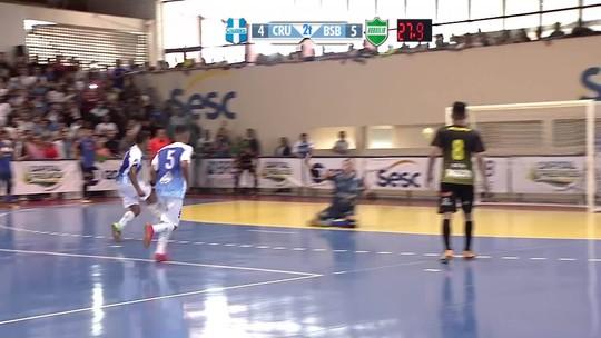É campeão! Brasília vira para cima do Cruzeiro nos segundos finais e conquista a Copa Brasília de Futsal
