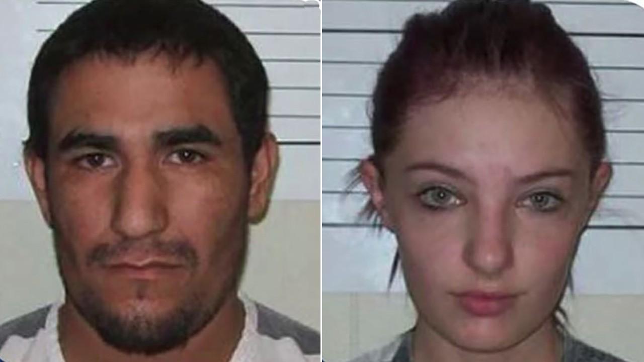 Zachary Koehn e Chayenne Harris estão sendo julgados nos Estados Unidos (Foto: Polícia de Iowa)